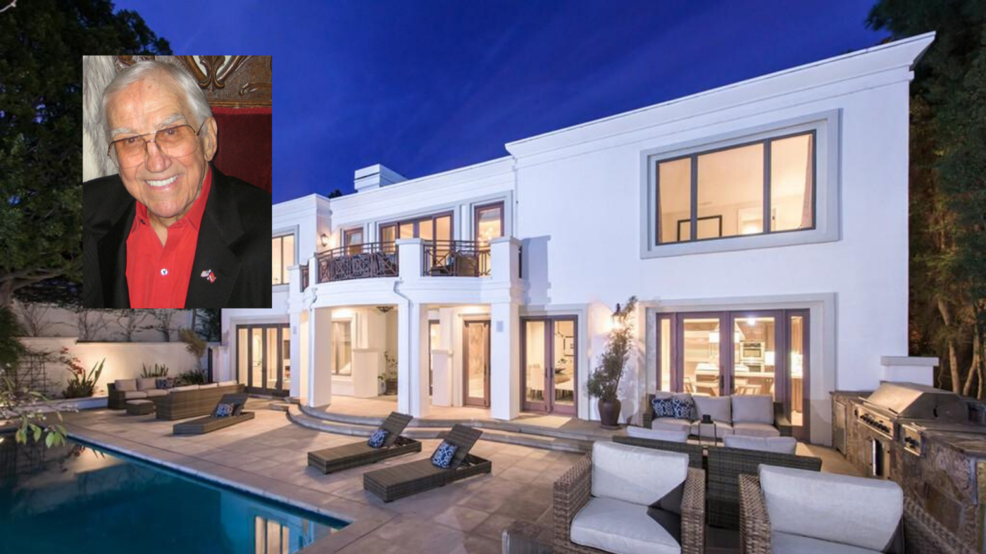 Ed McMahon's former Beverly Hills mansion lists for $6.8M