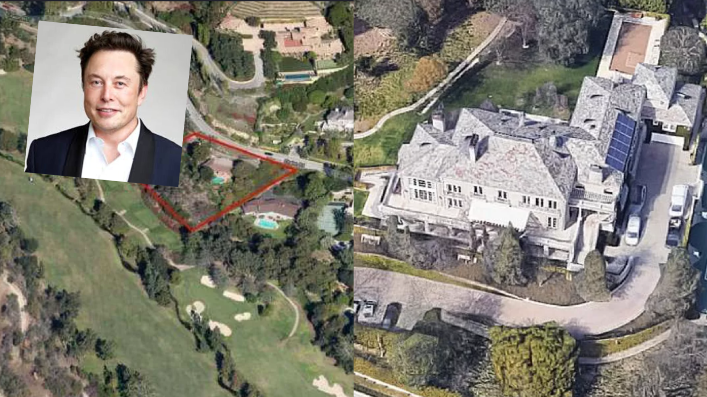 After vowing to sell his 'physical possessions,' Elon Musk lists two homes