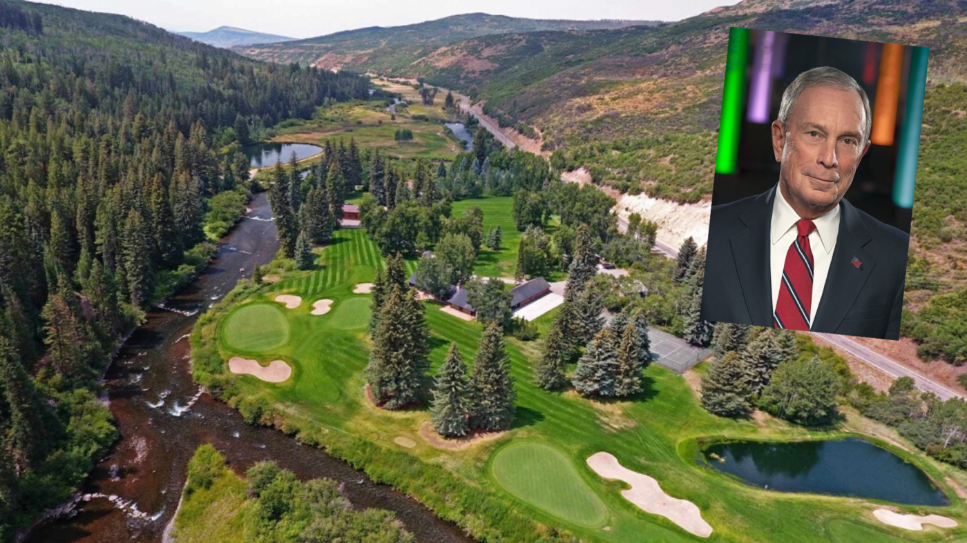Michael Bloomberg pays $45M for Colorado estate