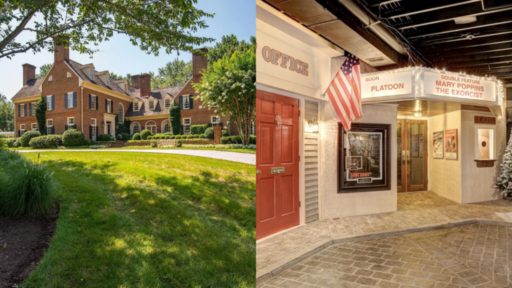 This Maryland house has an entire village in the basement