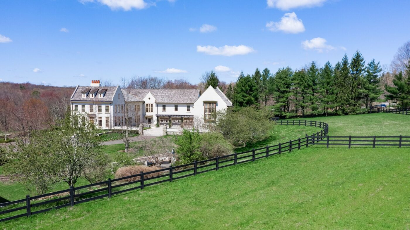 Former Connecticut home of director Barry Levinson lists for $19M