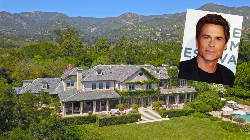 Actor Rob Lowe's one-time Montecito home lists for $22.5M