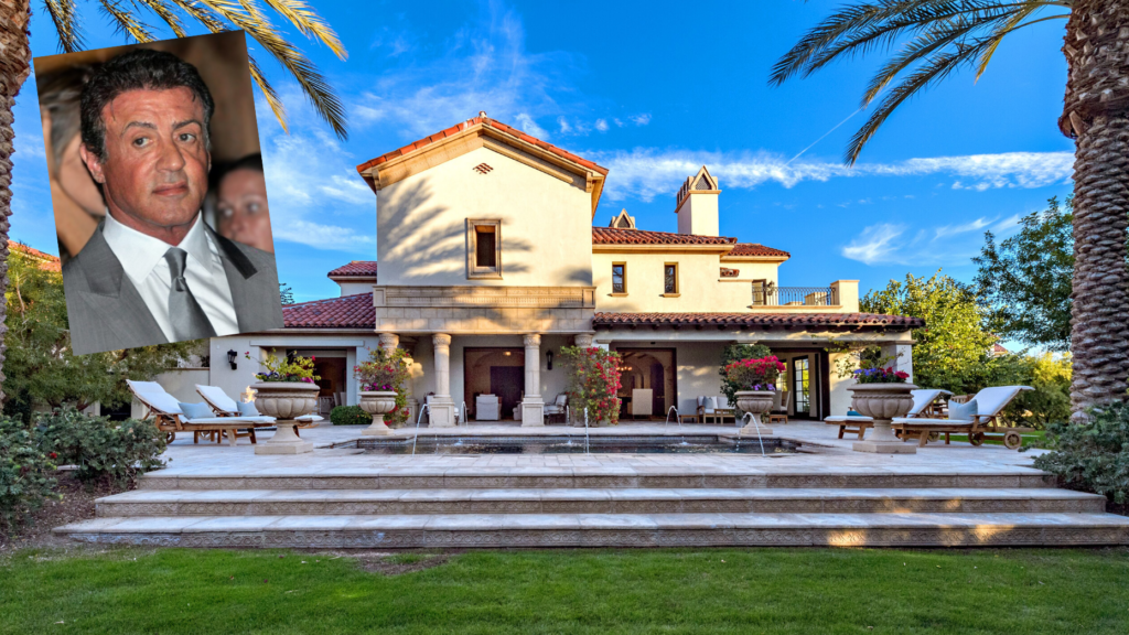 Sylvester Stallone's La Quinta mansion returns to the market