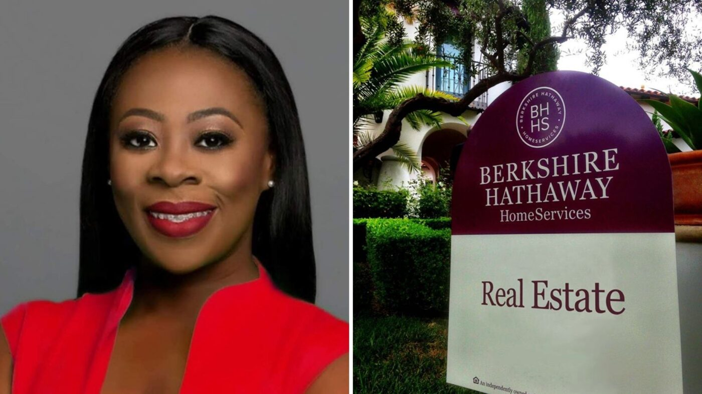 Say hello to the first African American owner of a Berkshire Hathaway franchise