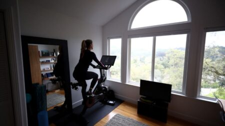 The latest in-demand apartment feature is a Peloton room