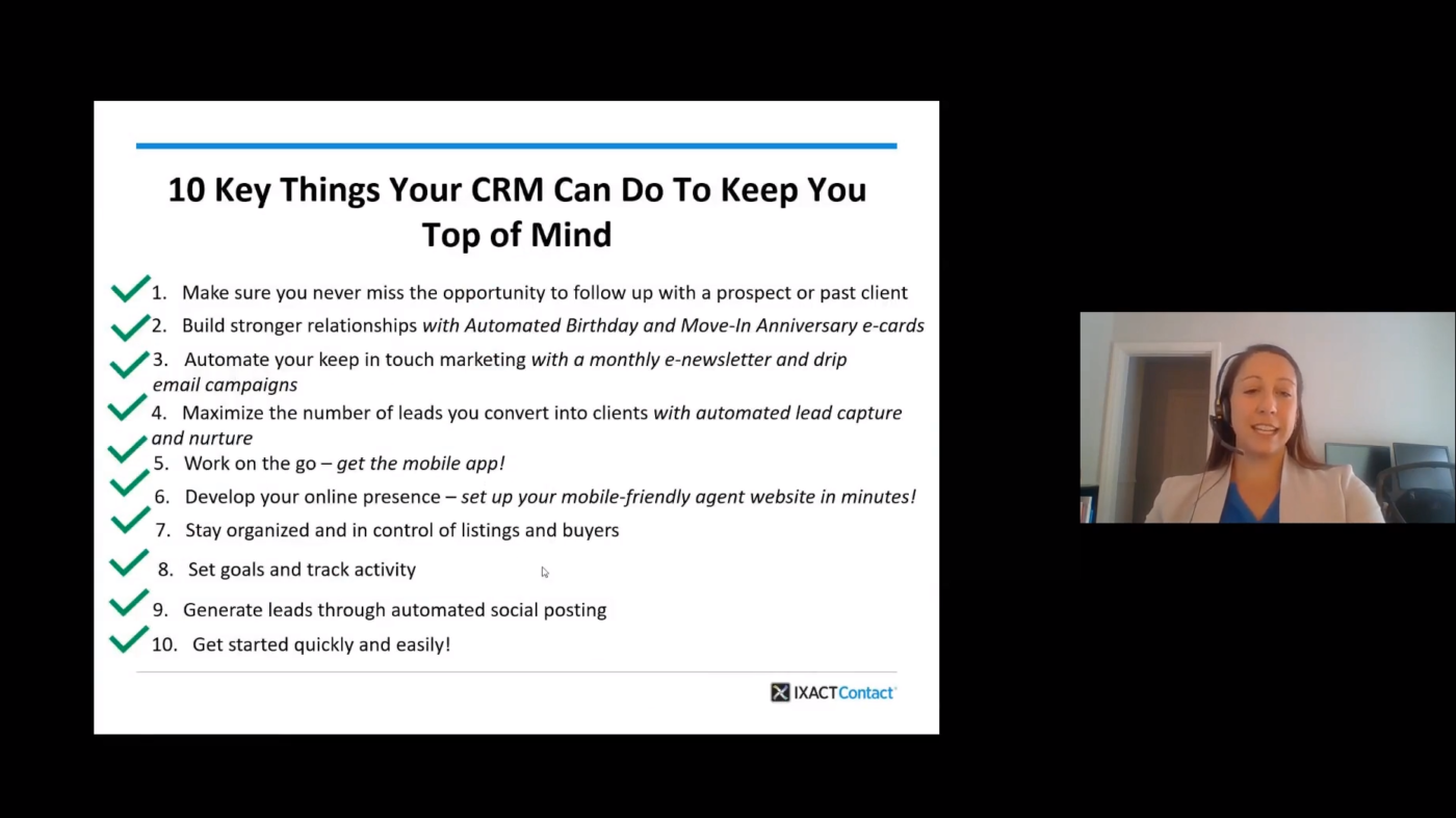 Come back strong! 10 key things your CRM can do to keep you top of mind
