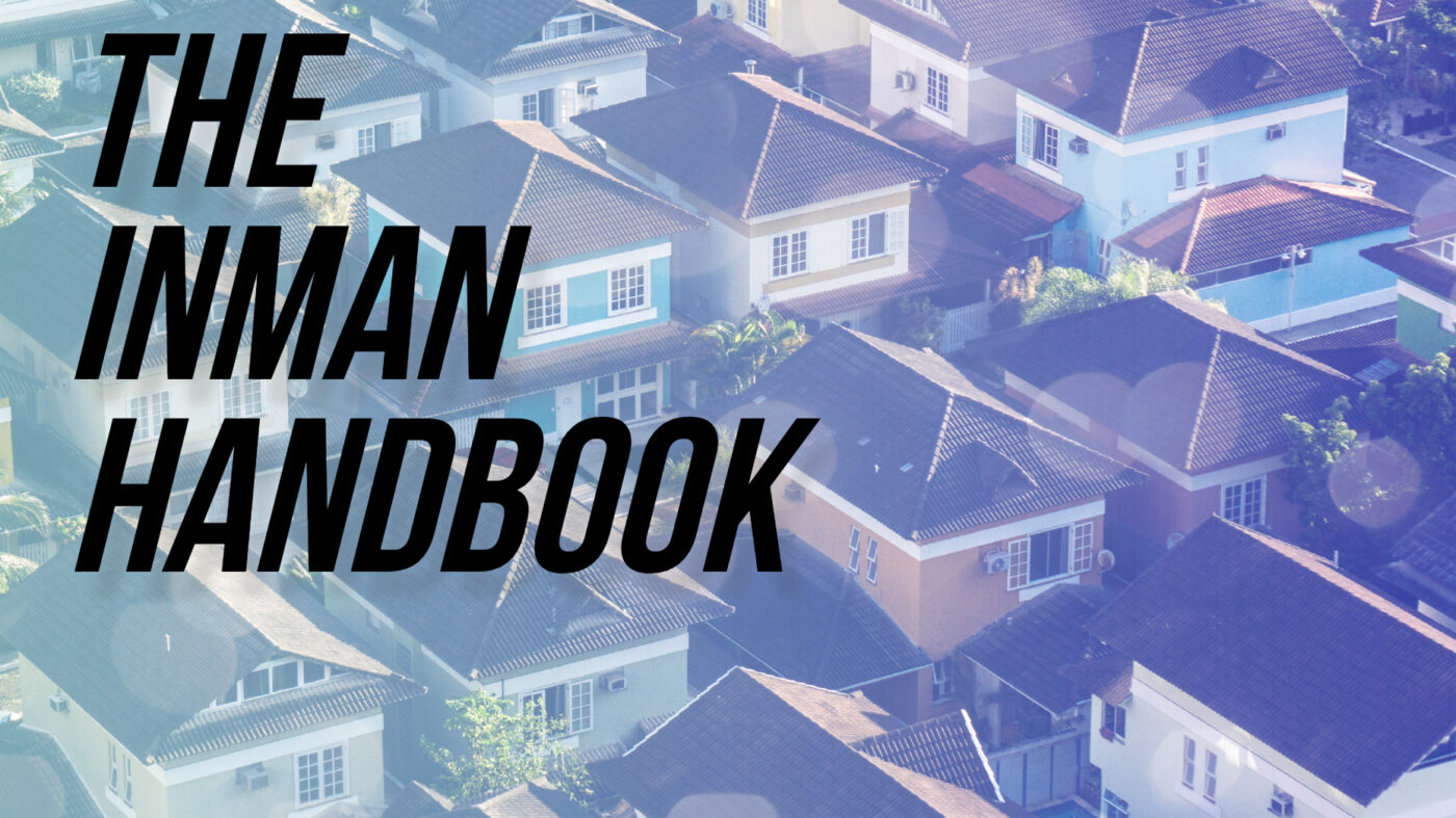 The Inman Handbook on how to sell a home without setting foot in it