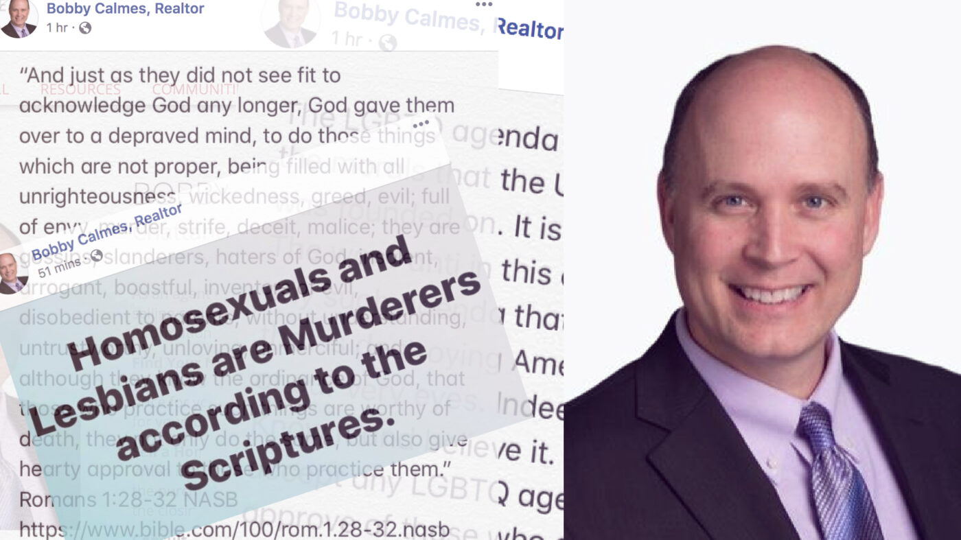 KW agent fired after comparing LGBT people to murderers