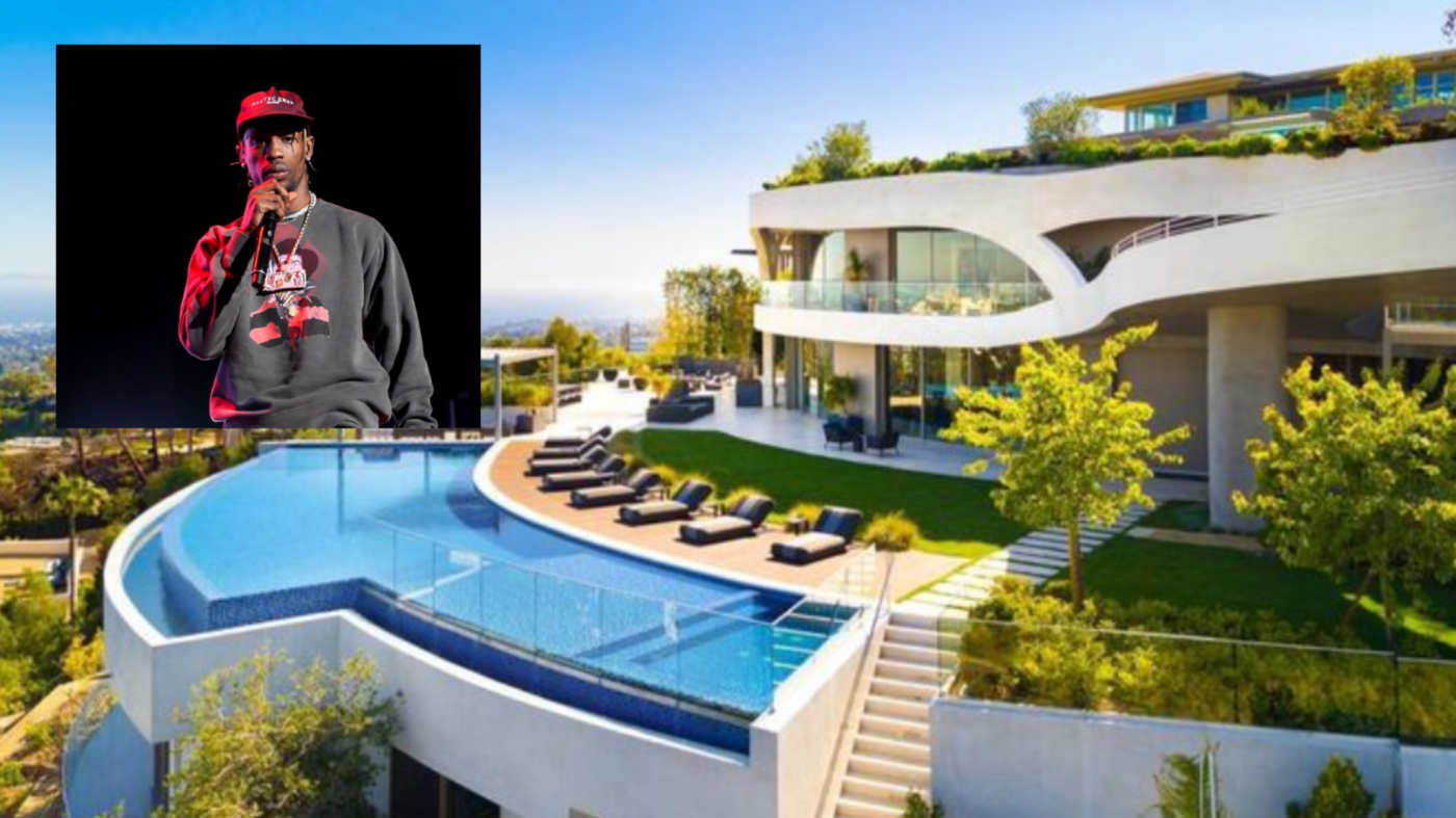 Chart-topping rapper Travis Scott buys $23.5M hilltop LA estate