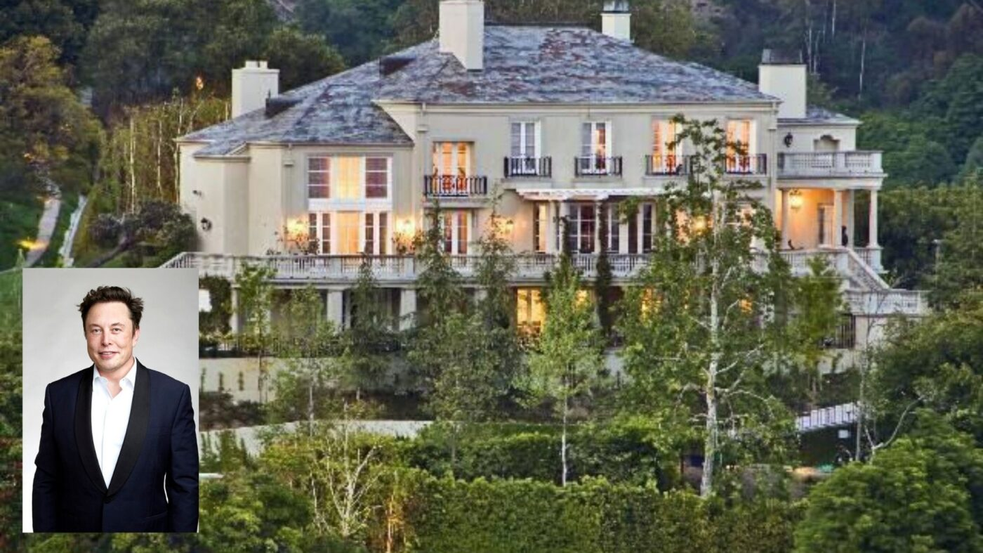 Elon Musk scratches an LA mansion off his list of worldly possessions