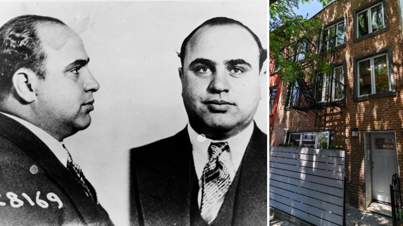 Al Capone's childhood home lists for $2.9M