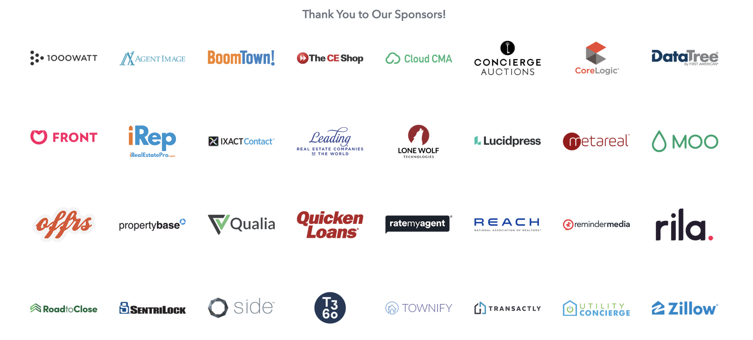 Connect Now Sponsors