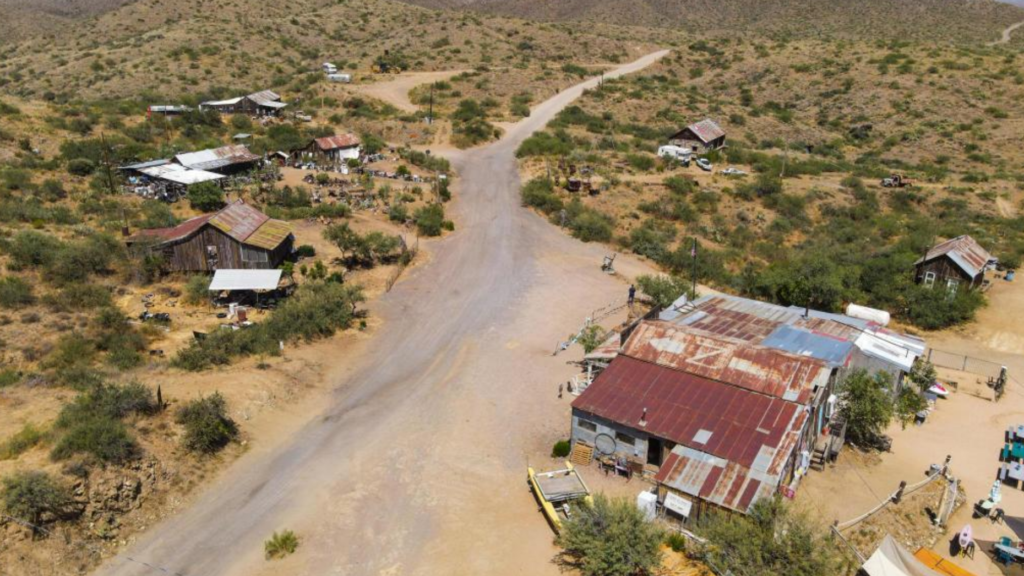 Want to buy a ghost town? An Arizona agent has one for sale