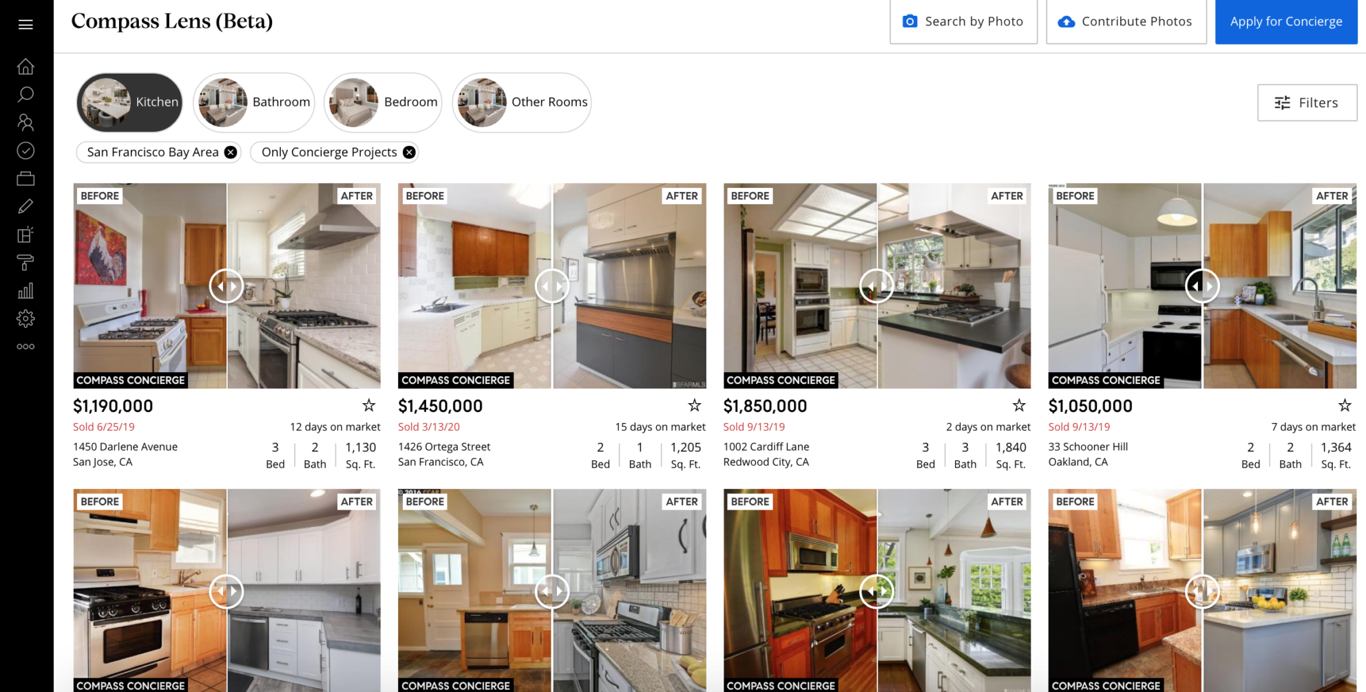 Compass Lens to help agents envision, value major renovations