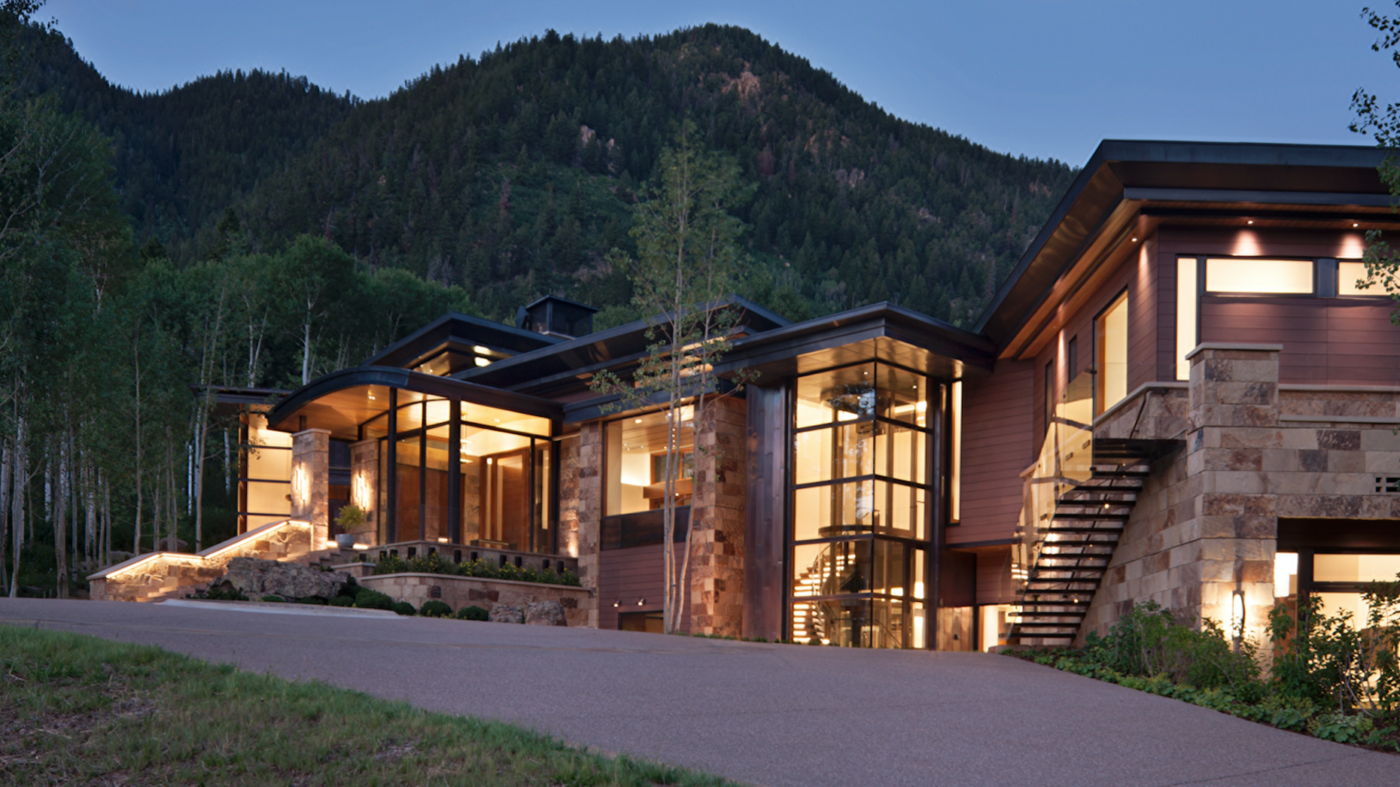 A room with a view: Mansion overlooking Aspen's natural beauty hits the market for $49M