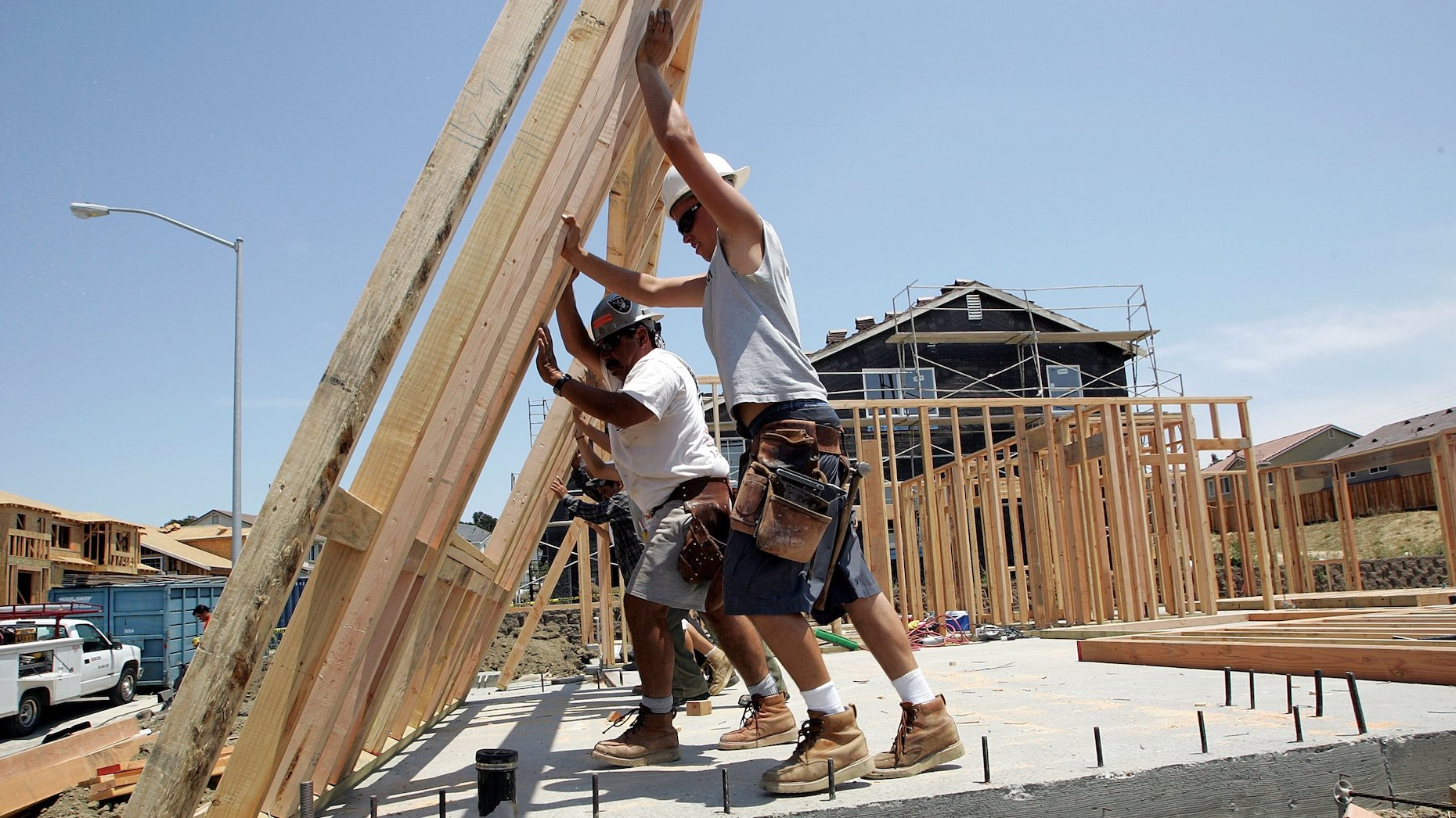 Residential construction on the rise amid major inventory shortage