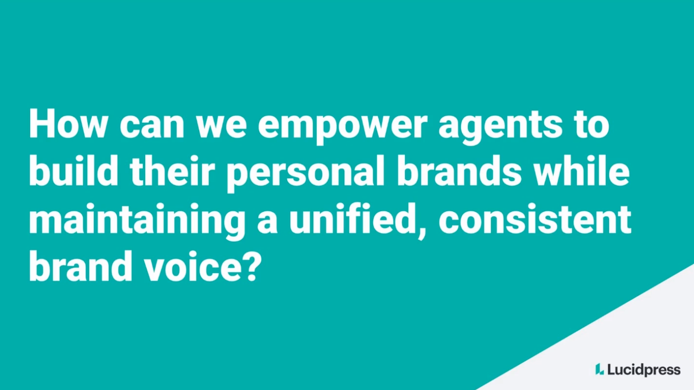 Brand trust: The secret to building a thriving brokerage in today's new normal
