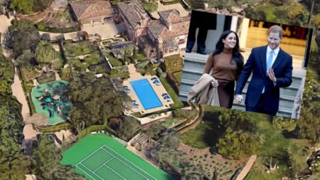 'Everything is cash': Prince Harry and Meghan take Santa Barbara