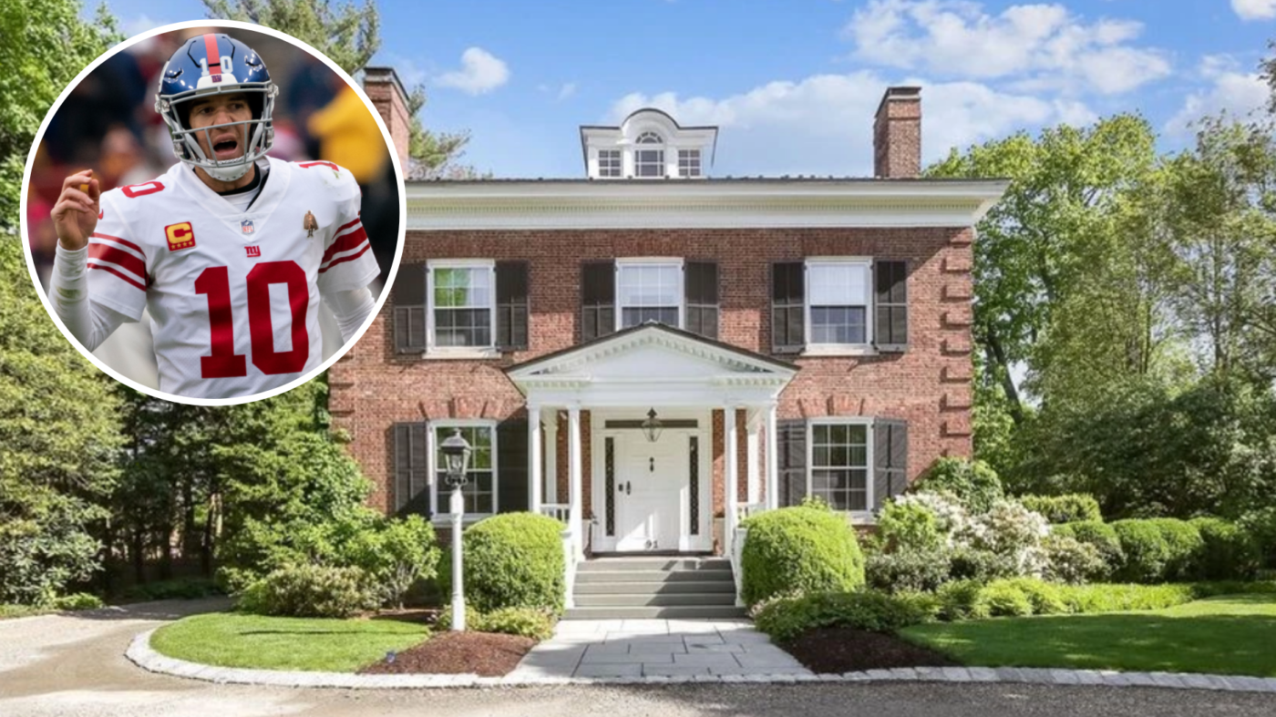 Eli Manning lists 'Giant' New Jersey estate for $5.25M