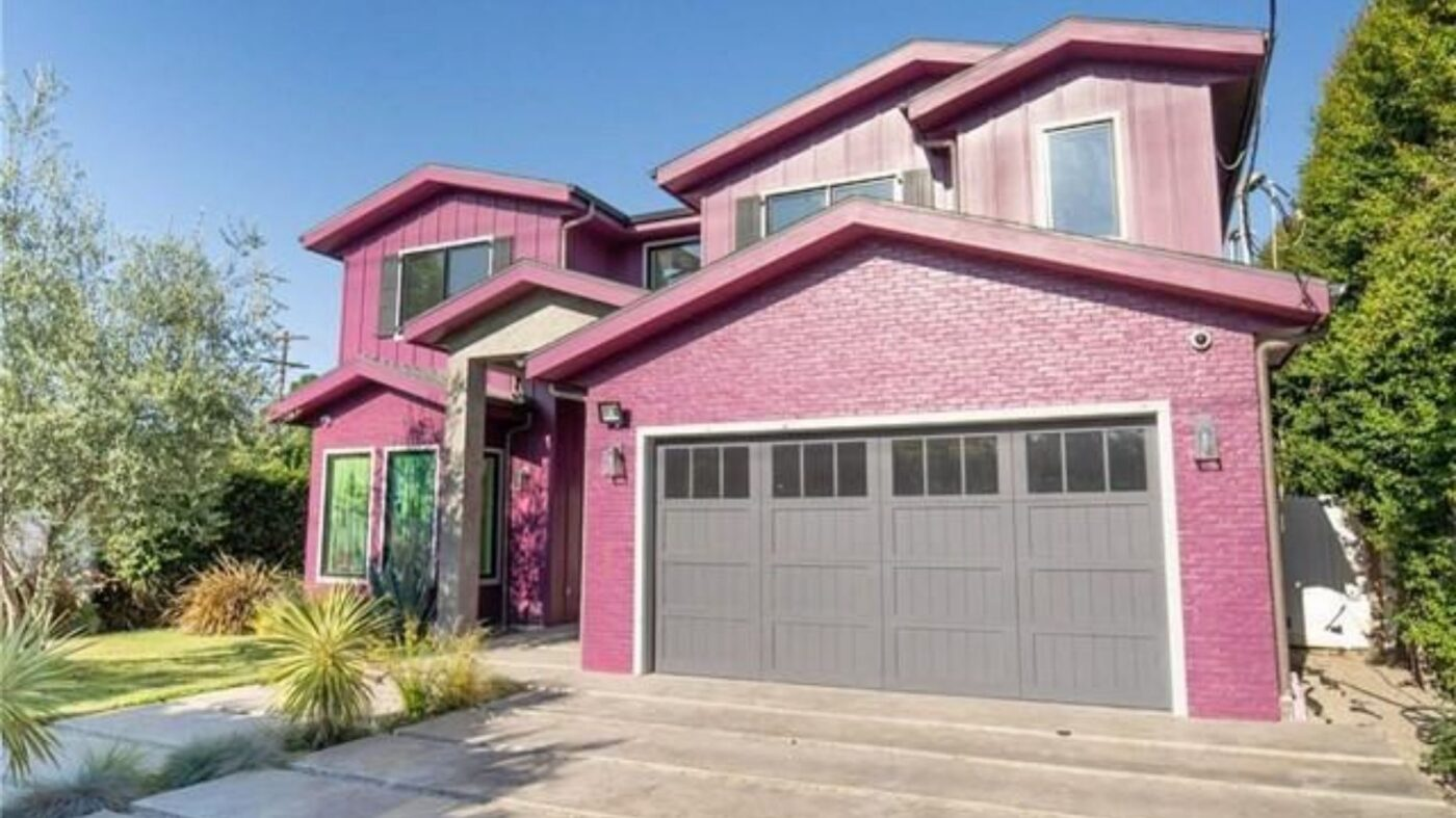 Bella Thorne's punchy pink house is for sale for $2.49M