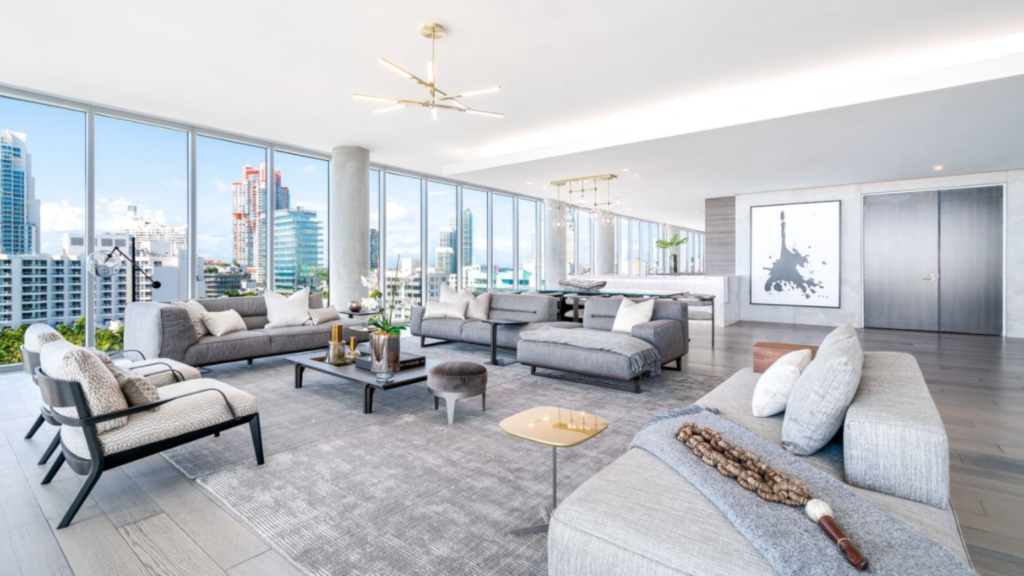 Hedge fund billionaire sells Miami Beach penthouse for $22M