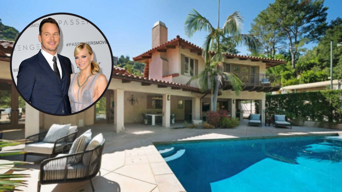 Two years after divorce, Chris Pratt and Anna Faris sell LA home