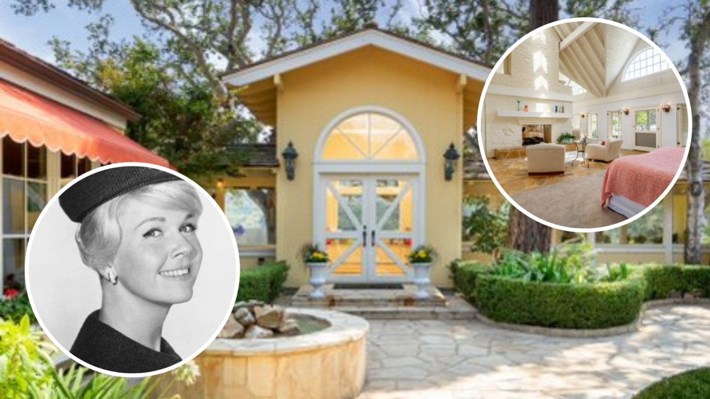 Sale of Doris Day's $7.4M home will go to her animal foundation