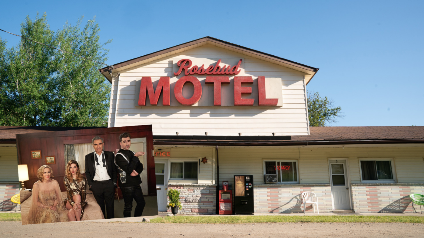 The motel from 'Schitt's Creek' can be yours soon
