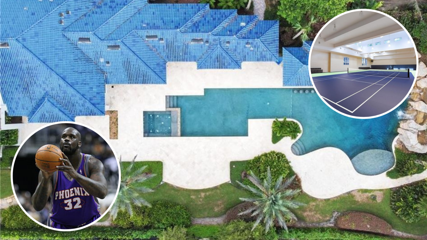 Shaquille O'Neal's Florida mansion is back on market with a price slash