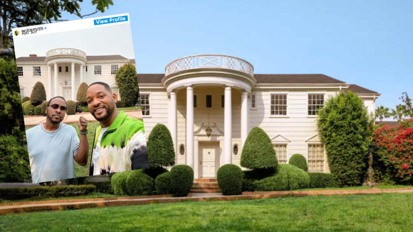 Yo homes! The 'Fresh Prince Of Bel-Air' mansion is on Airbnb