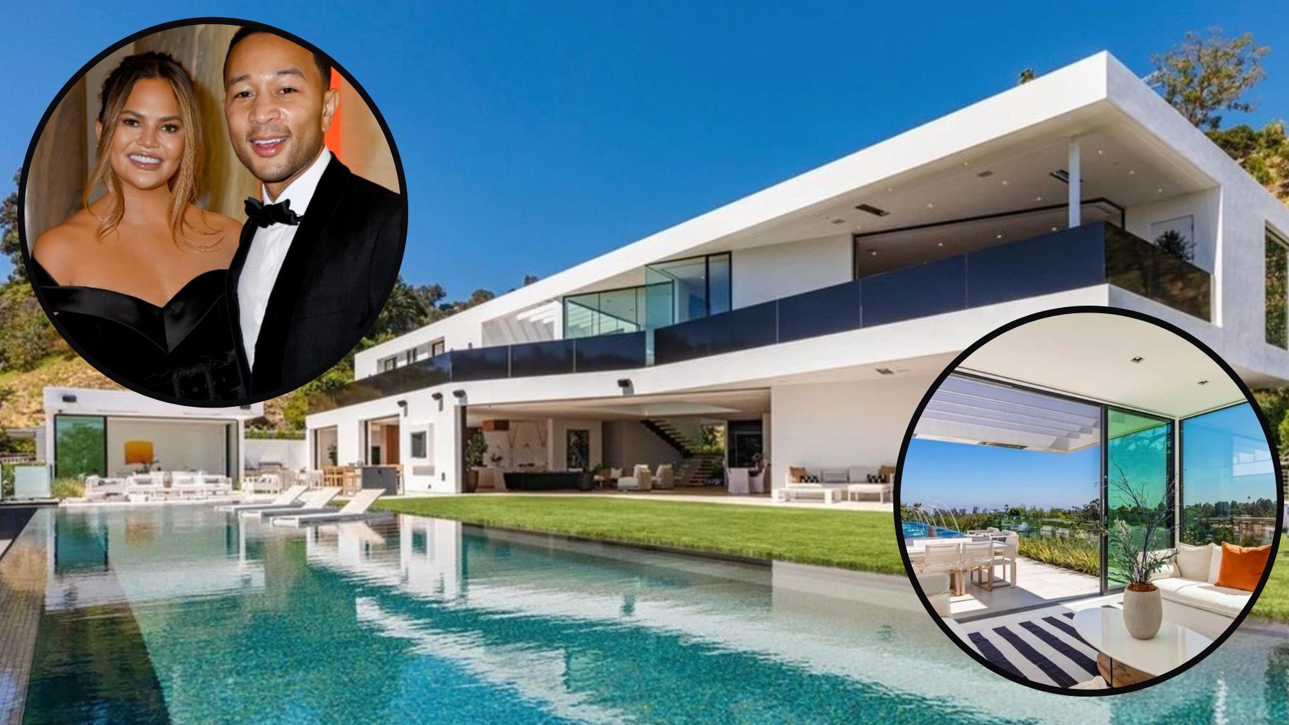 John Legend and Chrissy Teigen drop $17.5M on new home