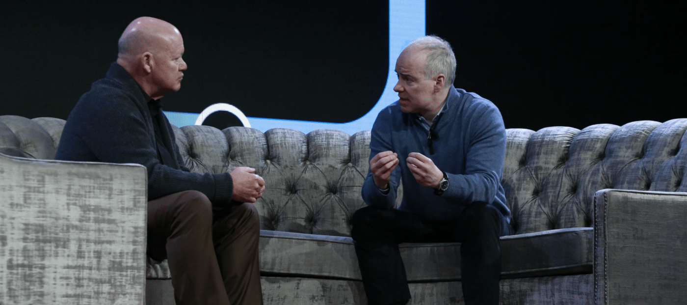 Realogy CEO Ryan Schneider and Brad Inman, one-on-one at Connect Now