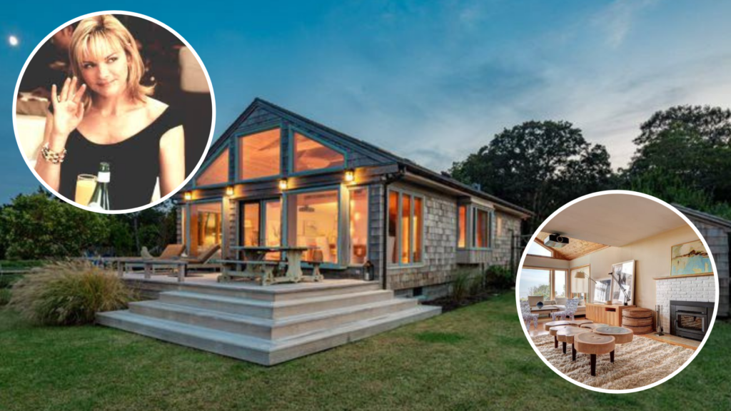 'Sex and the City' star Kim Cattrall lists Hamptons home for $3.25M