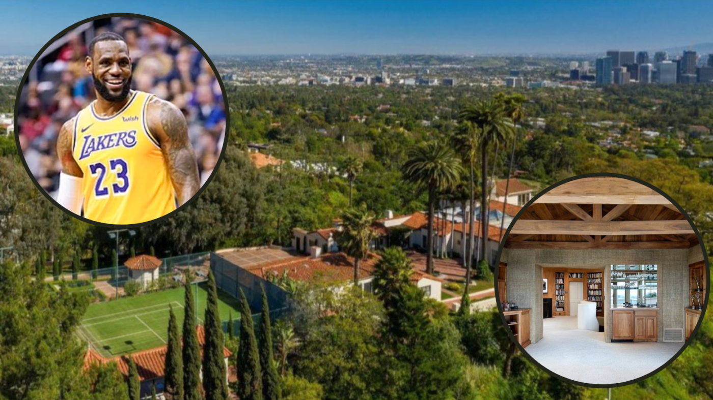 Get a look inside LeBron James' new $37M mansion
