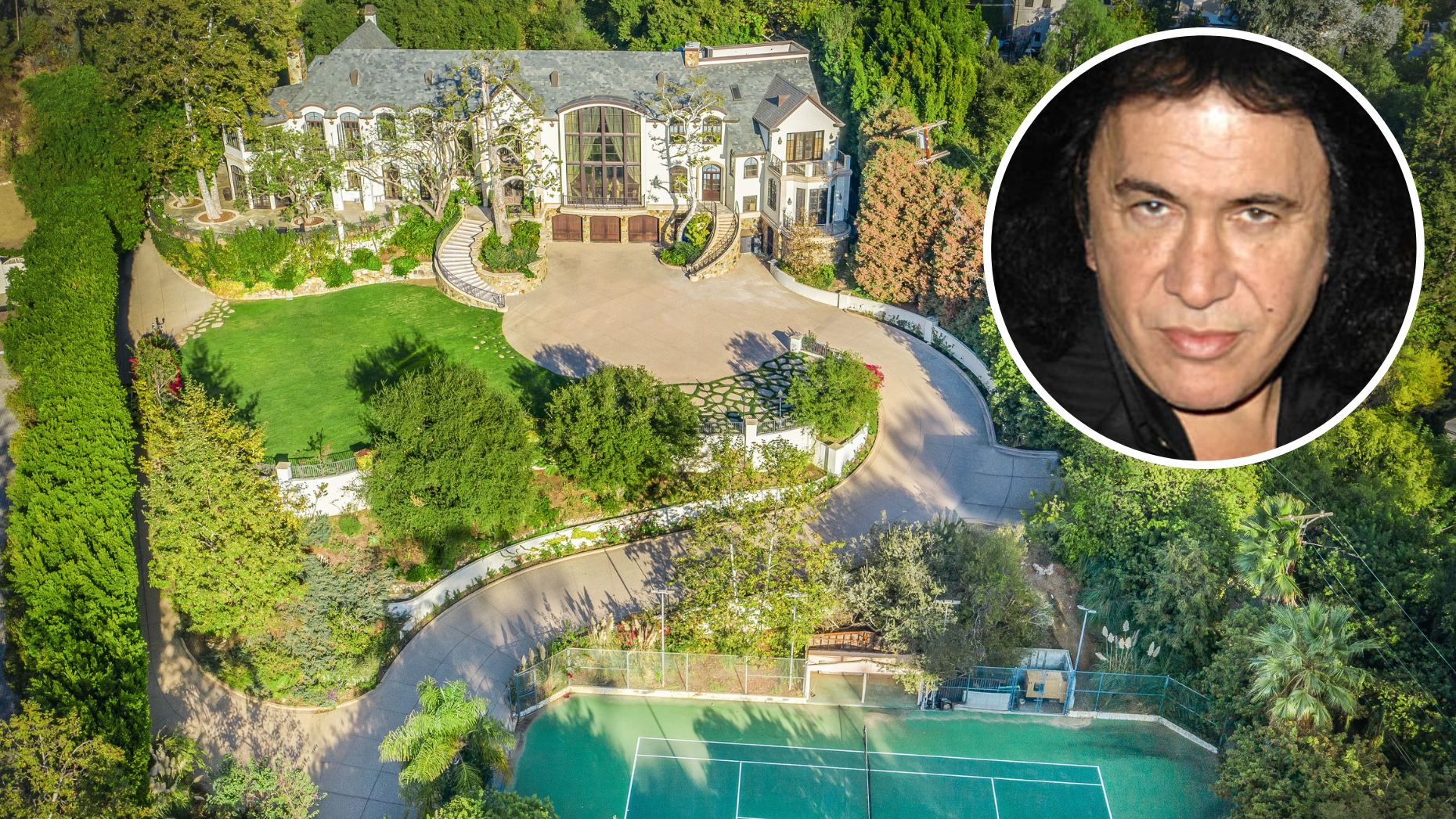 Kiss frontman Gene Simmons lists Beverly Hills mansion for $22M