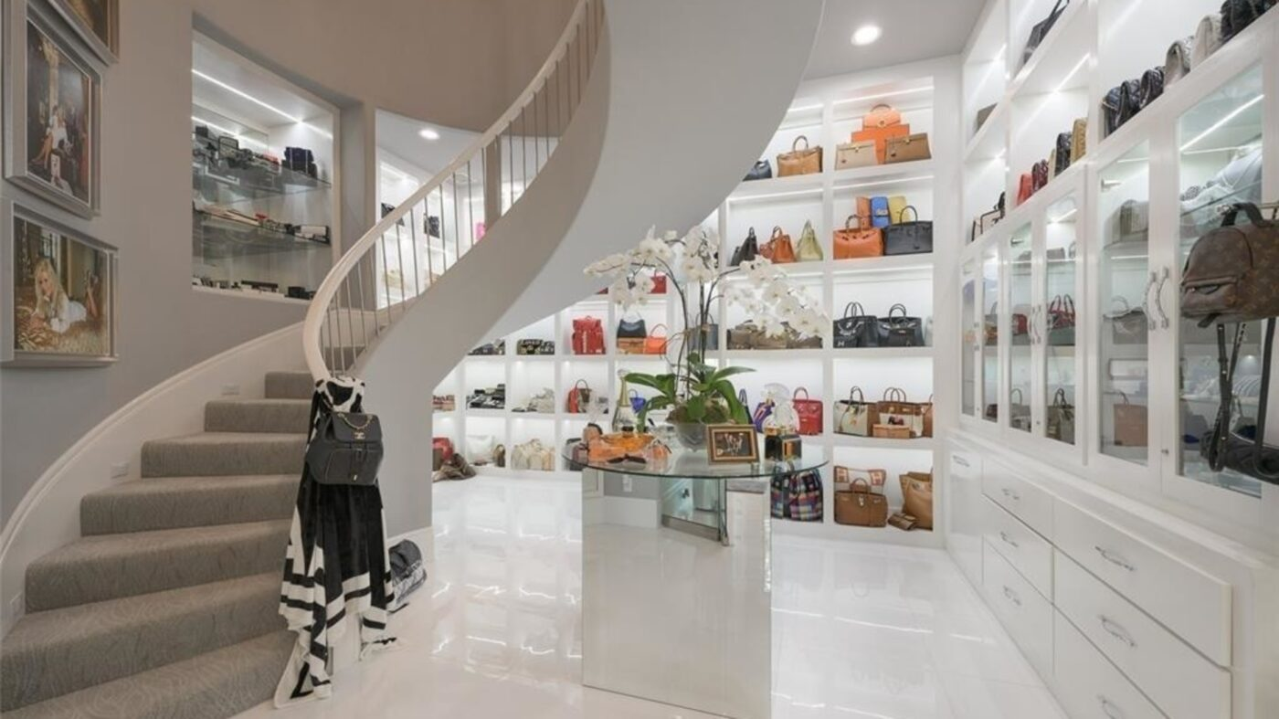 Behold, the Texas home with America's largest closet