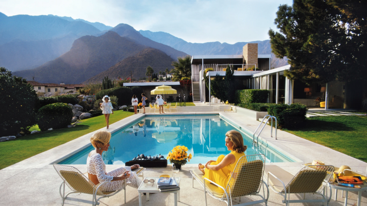 Home immortalized in iconic Slim Aarons photograph listed for $25M