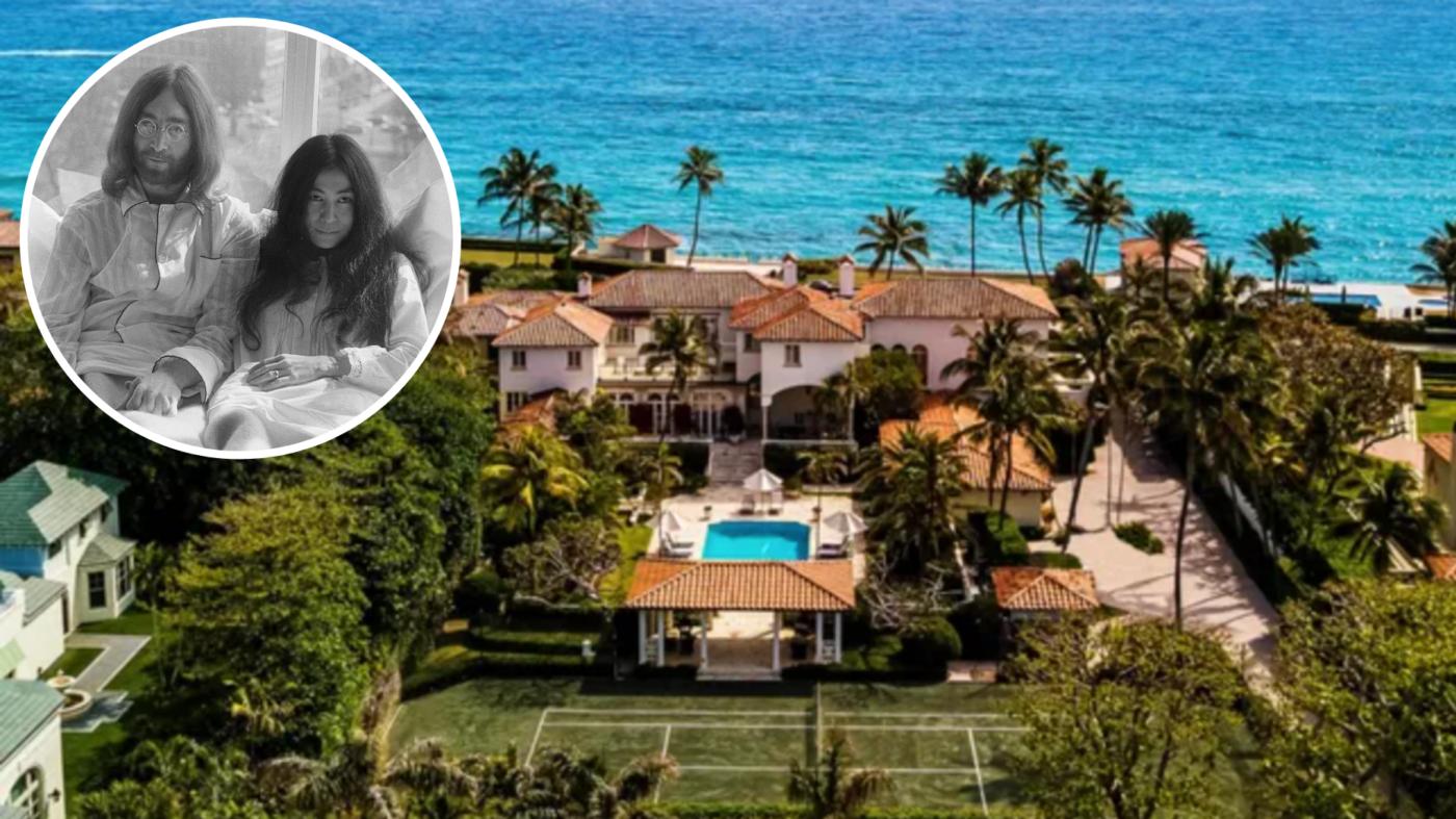 John Lennon and Yoko Ono's former Florida estate goes for $36M
