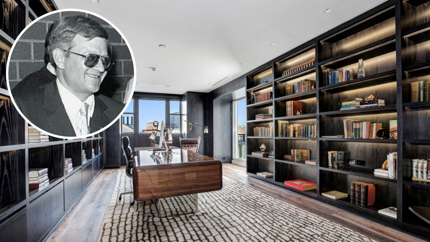 Novelist Tom Clancy's luxury penthouse heads to auction