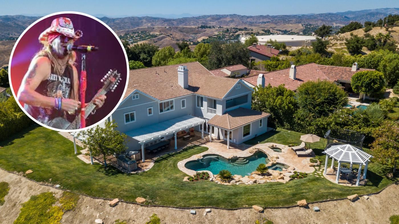 Rocker Bret Michaels pays $4.8M for Calabasas estate