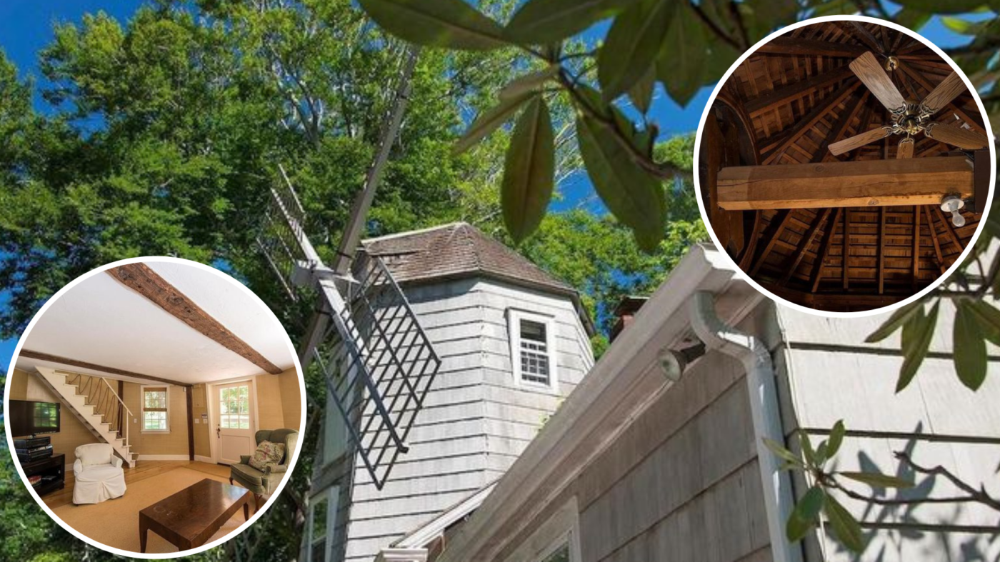 Historic Hamptons windmill house lists for $11.5M
