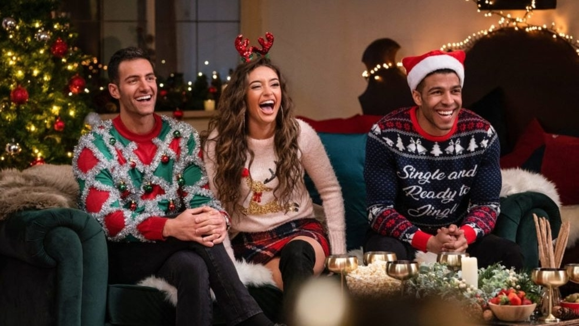 What we know about the luxe agent on HBO's Christmas reality dating show
