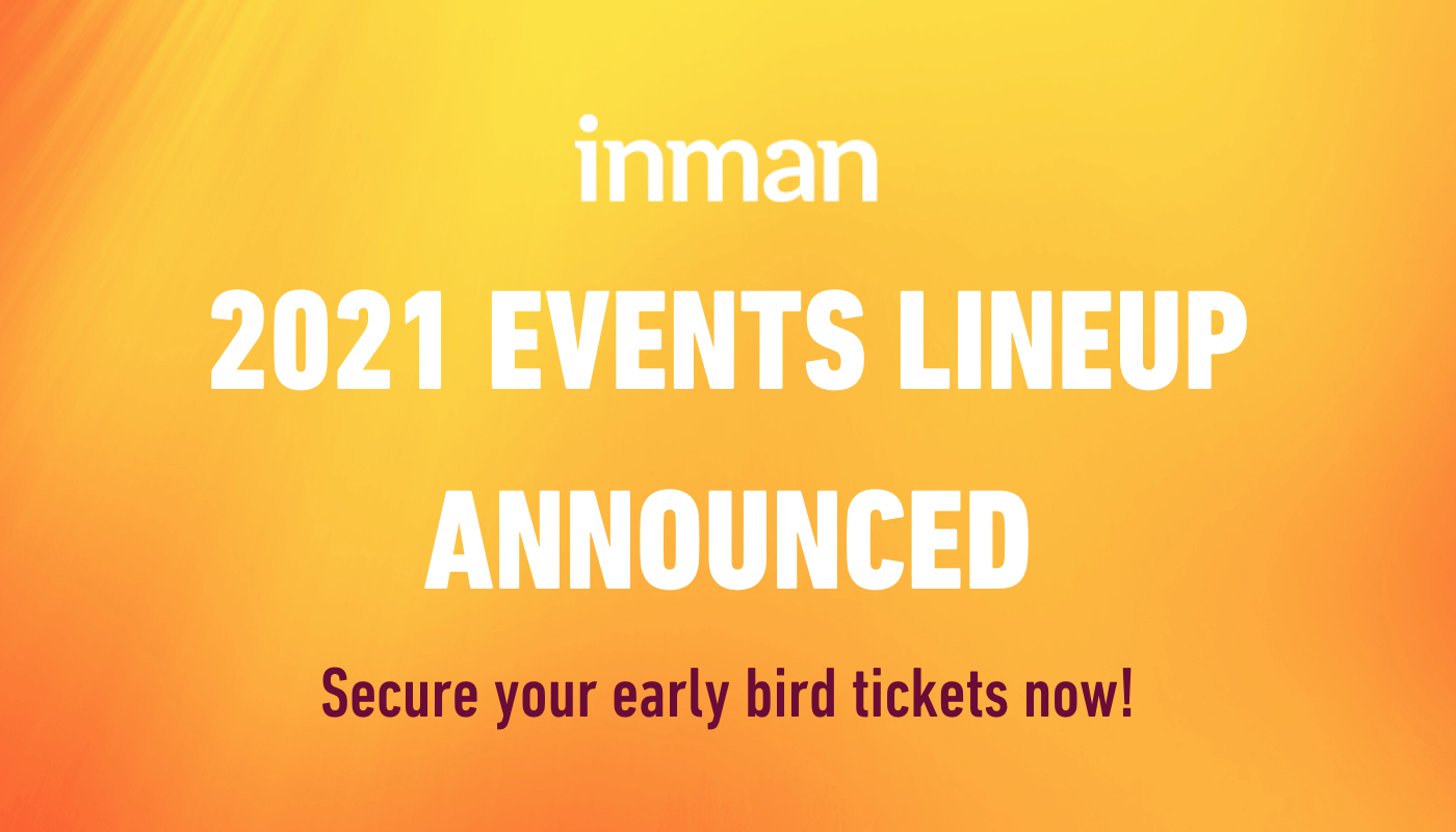 Save these dates: Inman's 2021 events calendar