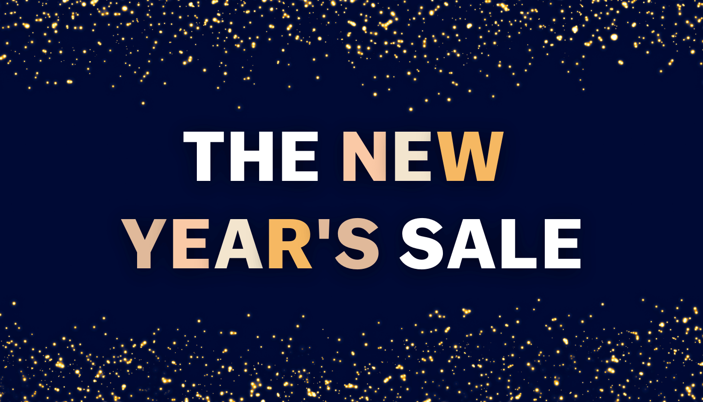 Last day for the New Year's Sale: Register now