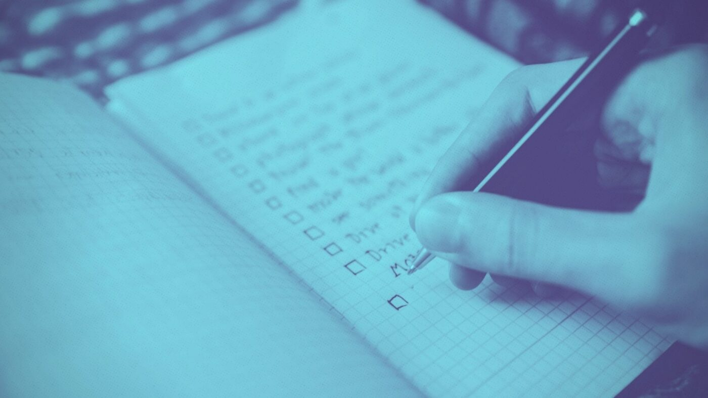 How to update your buyer's checklist for 2021