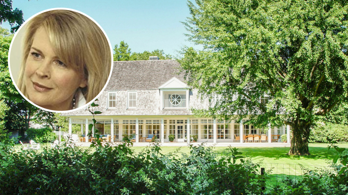 Candice Bergen and Marshall Rose list Hamptons home for $18M