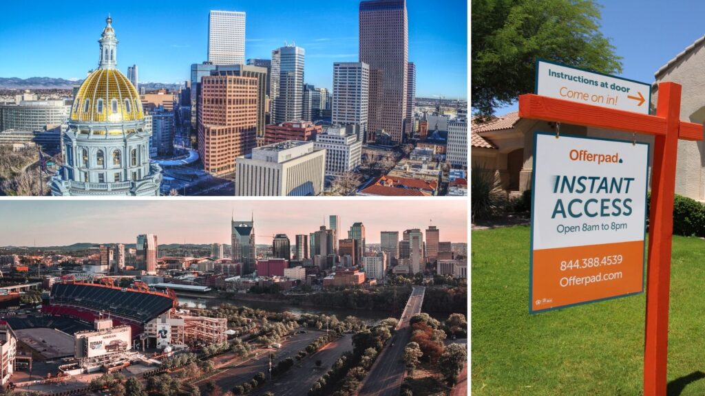 Offerpad expands full suite of services to Denver and Nashville