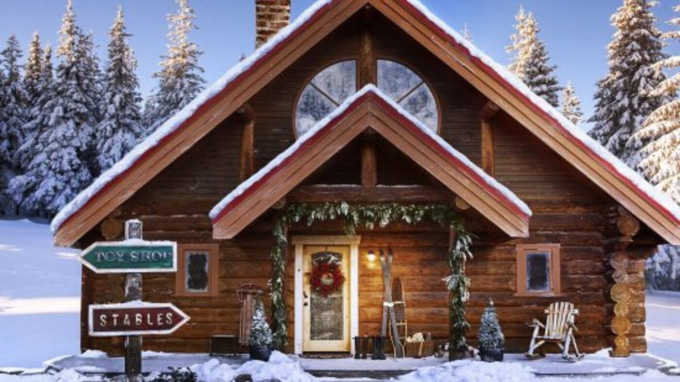 Yes, Santa's house now has a 3D tour on Zillow
