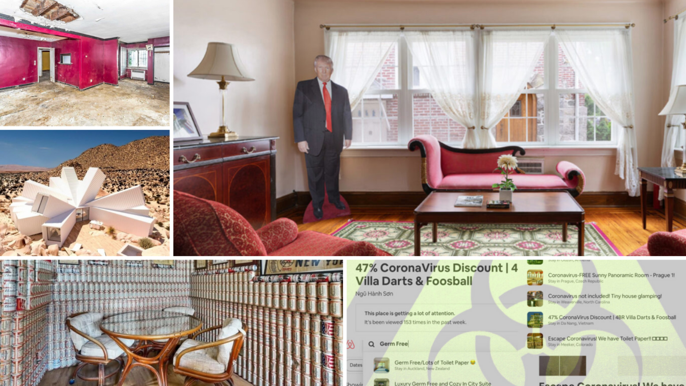The 20 weirdest, wildest real estate listings of 2020