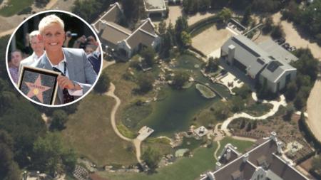 Ellen DeGeneres was the secret buyer of Dennis Miller's $49M estate